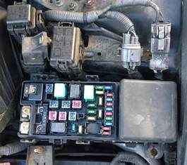 honda accord 2005 headlight relay location motor vehicle