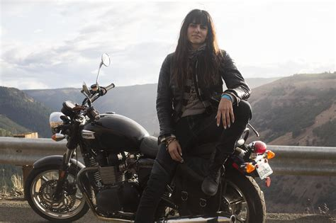 female motorcycle riding ride or die photos from an all motorcycle