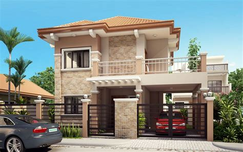 house plans two story with balcony home design and style