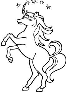 unicorn pictures to color coloring pages unicorns az coloring pages
