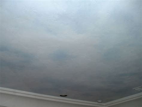 Sky Ceiling by Faux Finish Wall Treatments Wall Murals By Colette