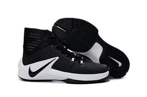 black and nike basketball shoes nike zoom clear out black white basketball shoes for sale