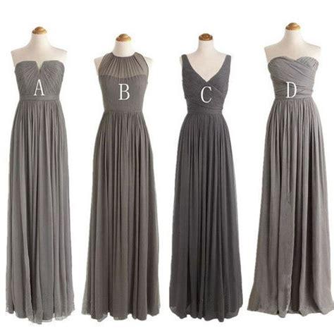 Dress Grey 25 best grey bridesmaid dresses ideas on