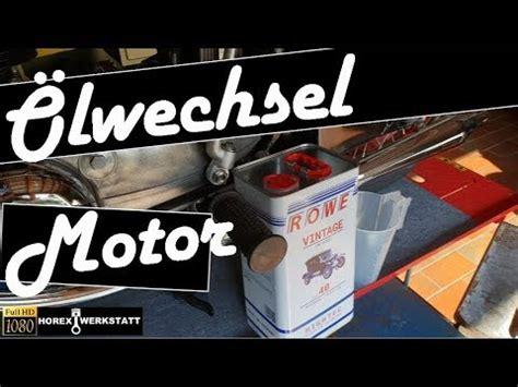 Lwechsel Motorrad Selber Machen by Horex Werkstatt Traveler Video