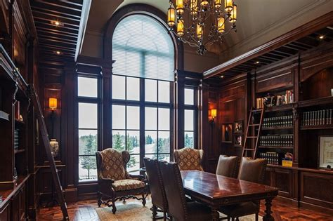 Tudor Home Interior Traditional Tudor Style Home With Interiors Traditional Home Office Toronto By