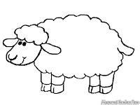 film kartun kambing mewarnai gambar domba mewarnai gambar