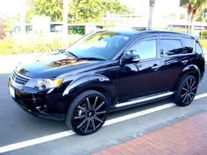Rims For Mitsubishi Outlander Hipnotic Wheels Blaque Wheels About