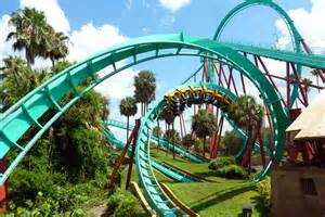 Park Roller Coaster Roller Coaster Amusement Park Rides 1roll Adventure