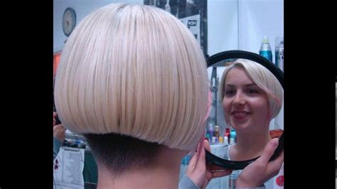 bob haircuts on youtube short nape bob haircuts youtube