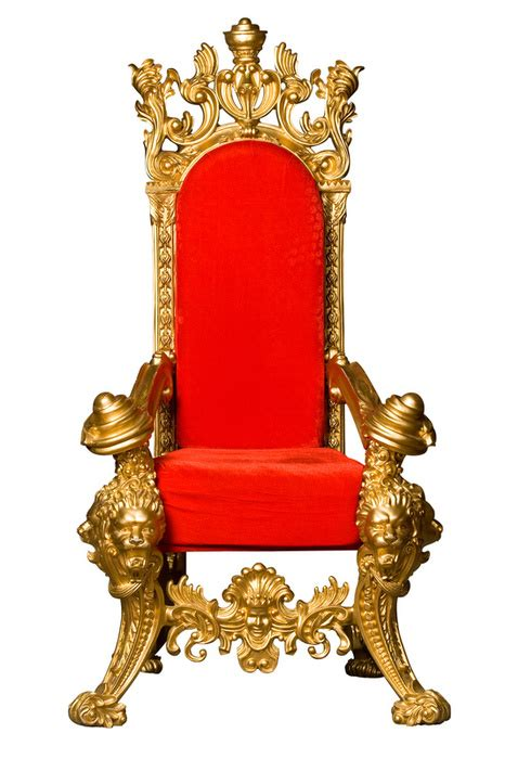The Royal Chair by A Timelss Wooden Throne Covenant Of