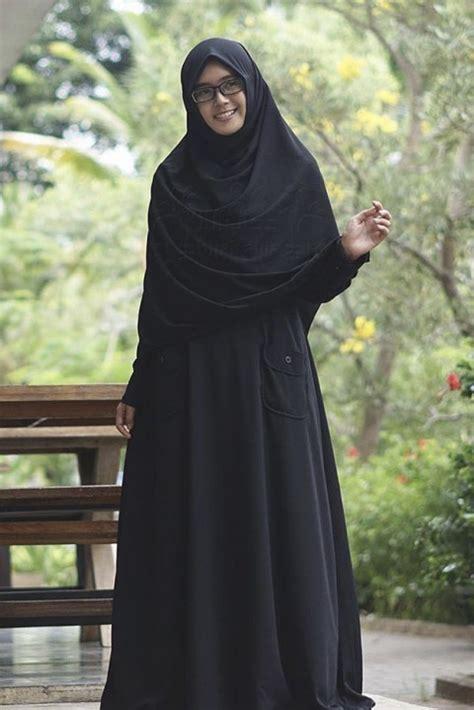 Mafaza Syar I By Zaza gamis premium hitam alila gamis syar i fesya