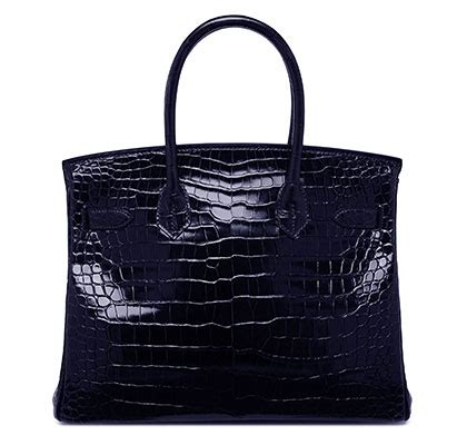 Hermes Birkin Glossy Croco Large 9044 hermes birkin blue marine 30cm bags of luxury