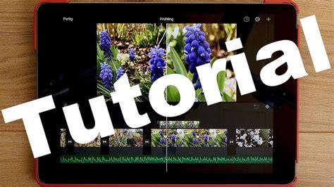 imovie tutorial deutsch pdf ipad 2018 4k videos schneiden mit imovie anleitung