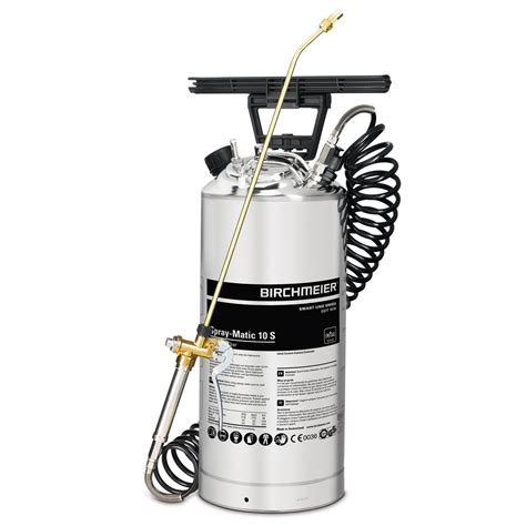 stainless steel compression sprayer with compressed air