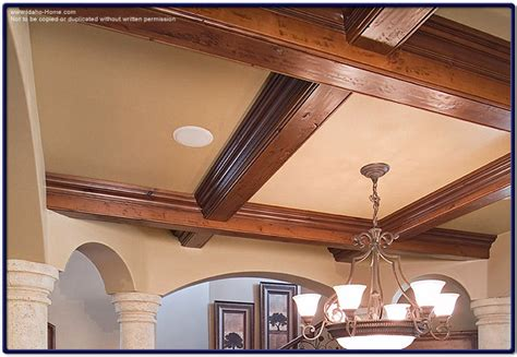 Beam Ceilings Photos by Large Wood Ceiling Beams For Living And Dining Room