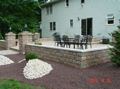 backyard contractors patio contractor new jersey new jersey patio contractor