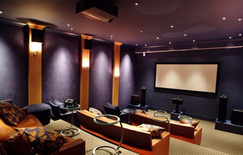home theatre decor ideas home theater design modern magazin