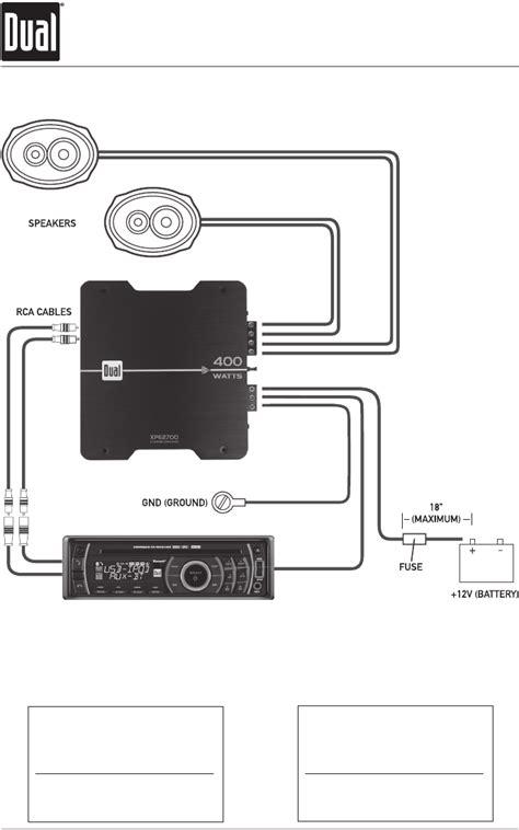 dual 400 watt wiring diagram wiring diagram with