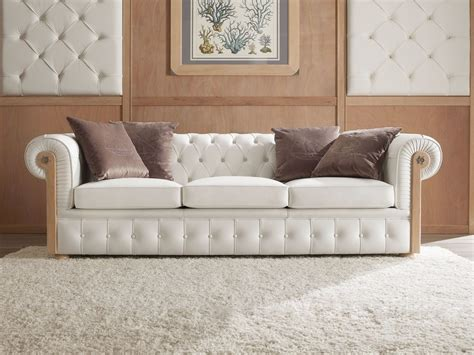 chester style sofa tufted upholstered 3 seater sofa chester by caroti