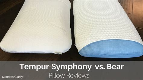 symphony pillow by tempur pedic pillow reviews tempur symphony vs
