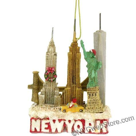 new york ornaments nycwebstore new york city skyline landmarks
