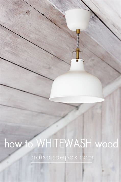 white wash ceiling planks remodelaholic how to whitewash a plank wall and ceiling