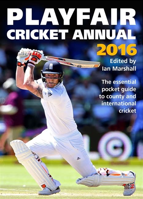 playfair cricket annual 2016 the oldfield park bookshop