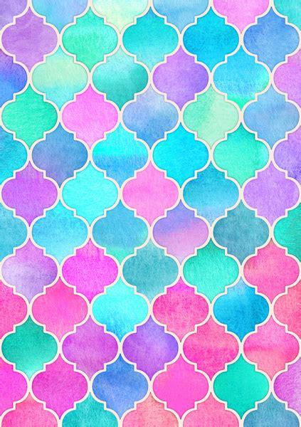 color pattern r bright moroccan morning pretty pastel color pattern art