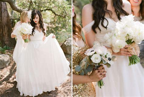 Sb Eledy Dress sparkly santa barbara wedding jeff