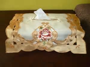 Cover Tempat Tissue Bordir Cover Tempat Tissue Organdi Bordir Organdi Satin Bordir