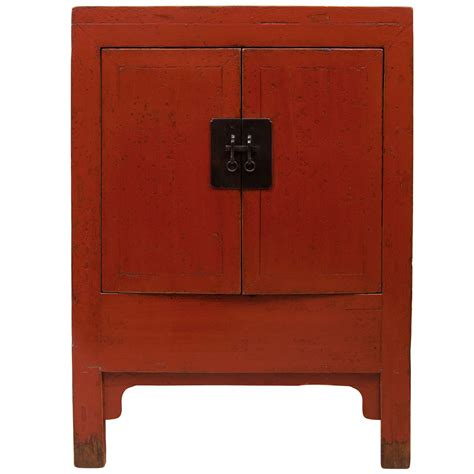 red lacquer cabinet 19th c red lacquer cabinet at 1stdibs