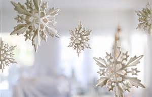 Entryway Tree Diy Snowflake Mobile Evite