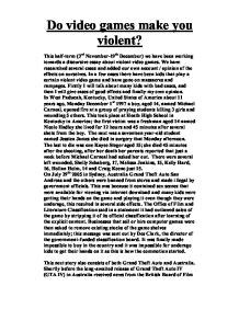 Videogames And Violence Research Paper by Violence In Essay Anti Violence In Essay Ppooiinntt Best Essay