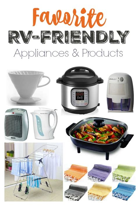 rv kitchen appliances my favorite rv friendly appliances and products instant