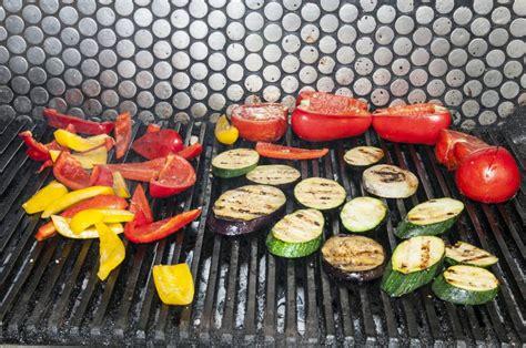 vegetables on the grill vegetables on the grill
