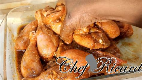 new year recipes chicken chef ricardo cooking shows garlic fried chicken