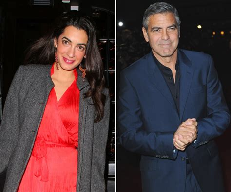 And George Clooney Might Be Dating by Profile Of George Clooney S Amal Alamuddin