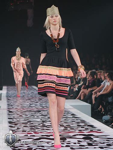 Tina Kalivas Dress by Missives From L Oreal Melbourne Fashion Festival Days 1