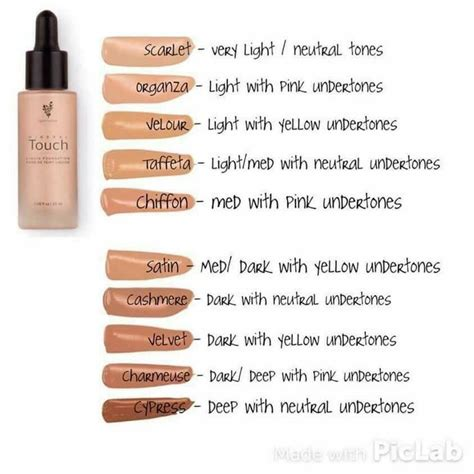 foundation colors how to choose the shade of younique liquid