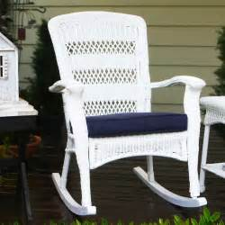 white wicker rocking chair tortuga outdoor portside plantation wicker rocking chair