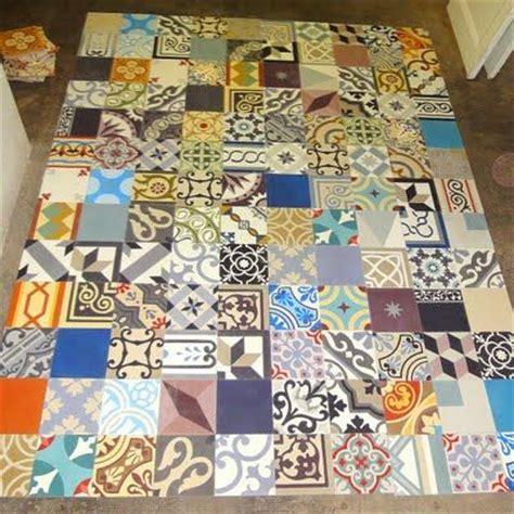 Mosaic Sur by Carreaux De Ciment Patchwork Mosaic Sur Deco