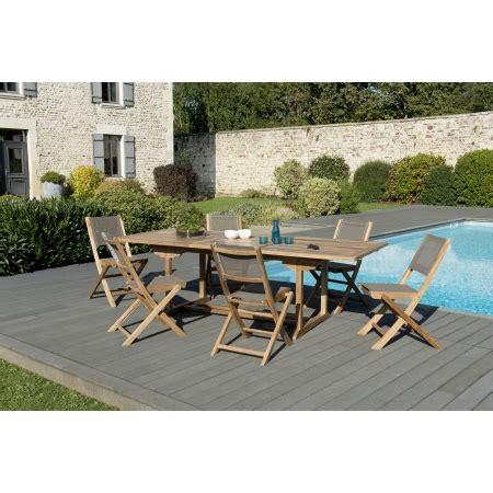 fauteuil pliant 2481 salon de jardin n 176 123 comprenant 1 table rectangulaire