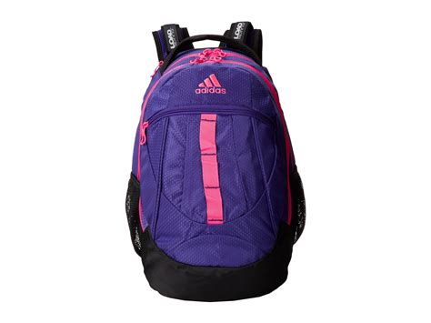 adidas backpack adidas 2014 hickory backpack in purple blast purple solar
