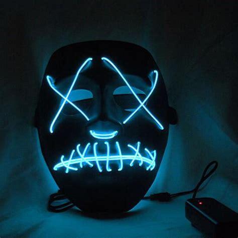 Light Up Mask by Purge Election Year Led Light Up Mask Fancy Dress