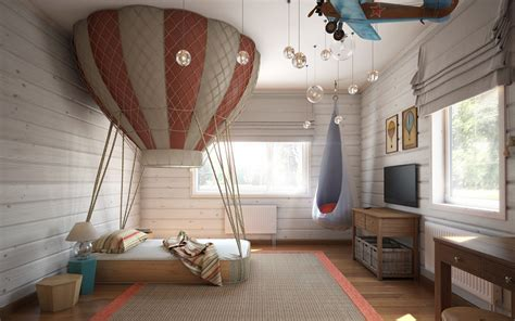air in room air balloon bedroom interior design ideas