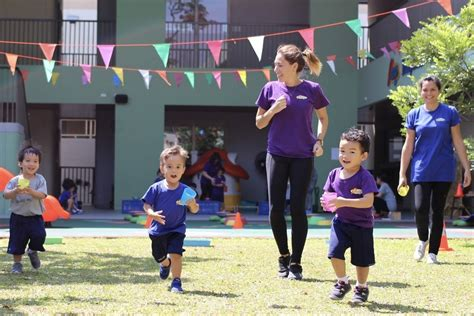 Sports Day Prep International Kindergarten Kinder Kid Competition