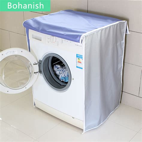 Machine Wash Microfiber Covers by Silver Sunscreen Protective Washing Machine Cover For Home