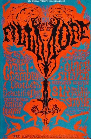 Band Acdc Tshirt Musik Rock Uvn 115 abraxas poster from fillmore auditorium jan 14 1995 at