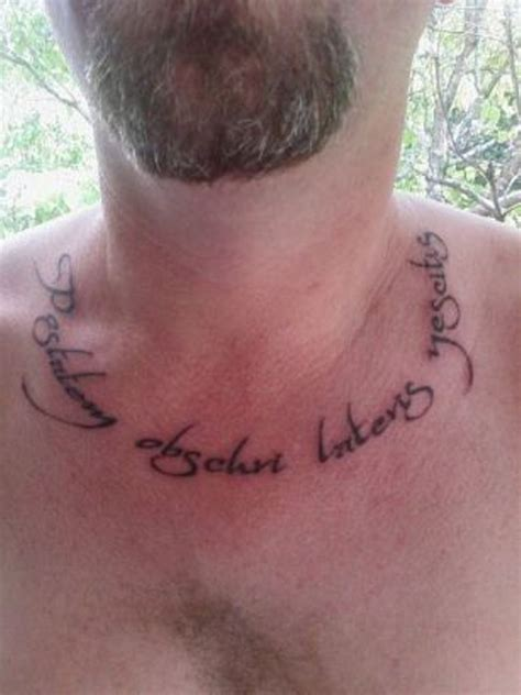 55 Elegant Neck Letters Tattoo Letters Tattoos On Neck 2