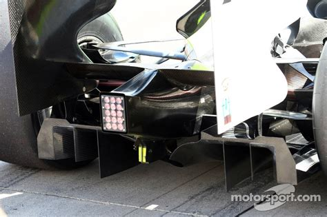 Rear diffuser of the Brawn GP car at British GP